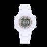 Relógio DIGITAL RACE WHITE / 38MM