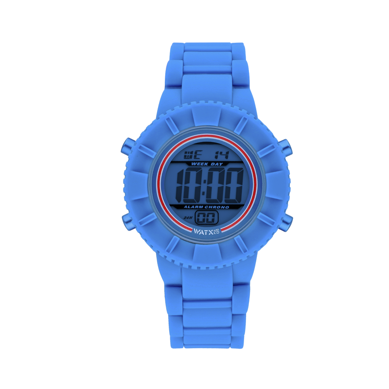 Relógio DIGITAL RACE BLUE / 38MM