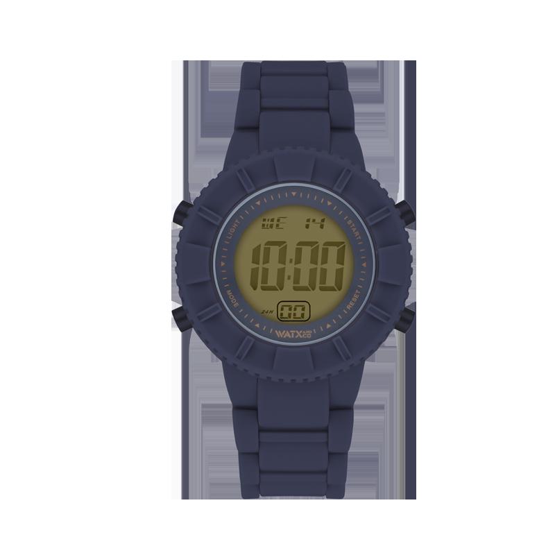 Relógio DIGITAL SOFT DARK BLUE / 38MM